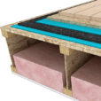 Serna™ Underlay can be glued in place if needed used Serena Adhesive