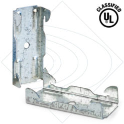 IB-1 Soundproofing Decoupling Clip used with Drywall Furring Channel
